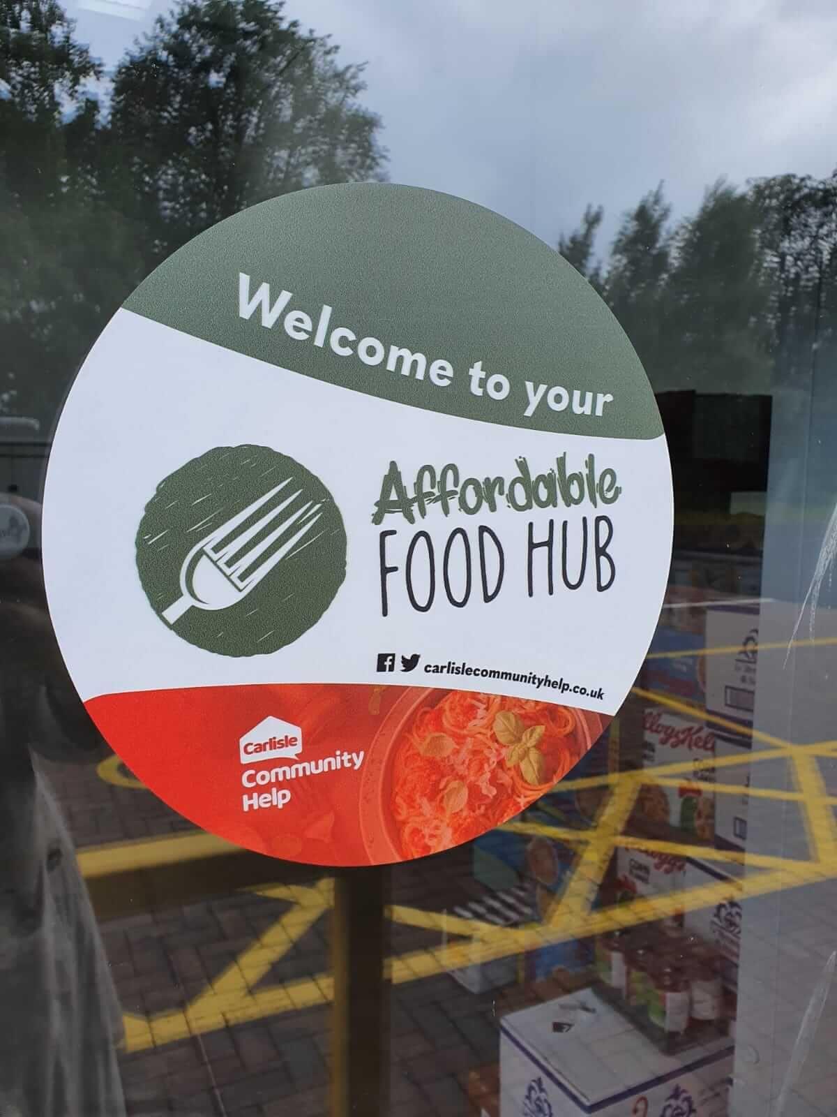 Carlisle Community Help Signage