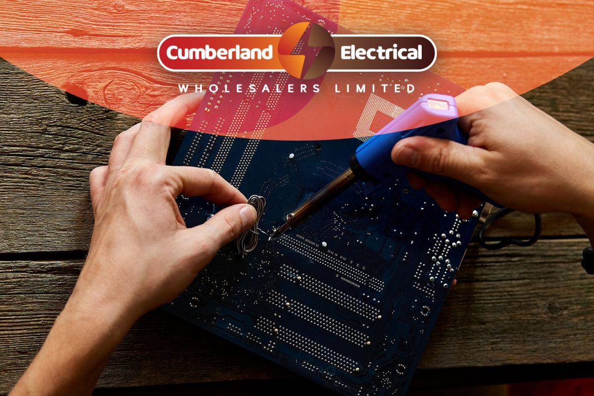 Cumberland Electrical Logo Design