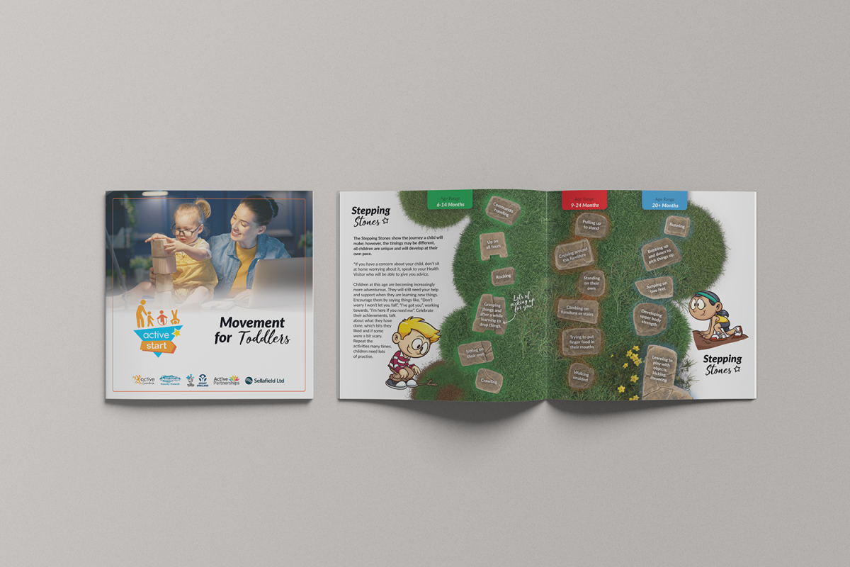 Active Cumbria Movement for Toddlers Brochure