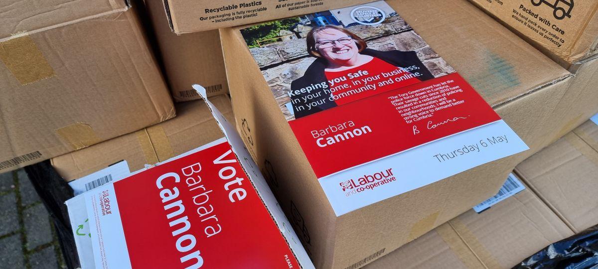 Labour Campaign Print Material