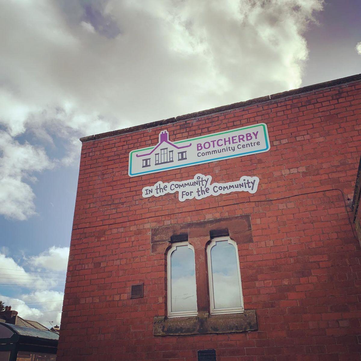 Botcherby Community Centre Signage