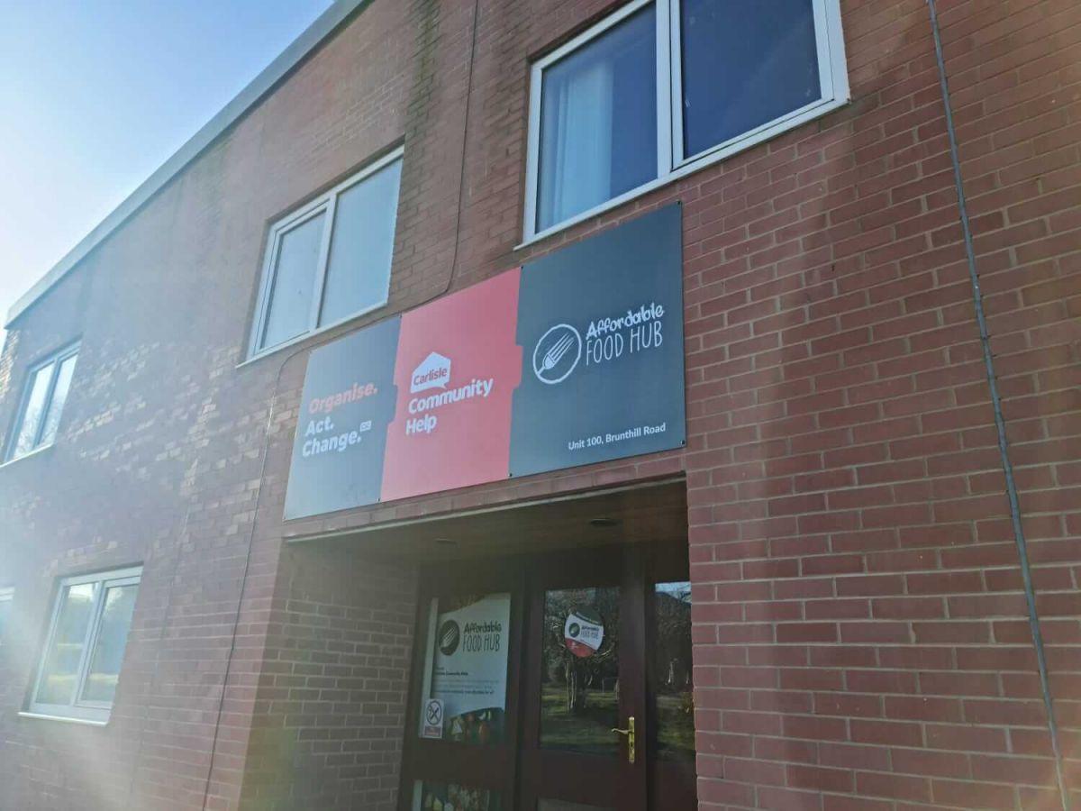 Carlisle Community Help Exterior Signage
