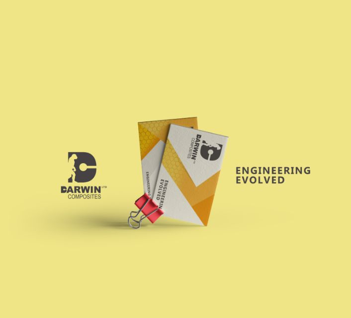Darwin Composites Business Card Design Drydenmedia